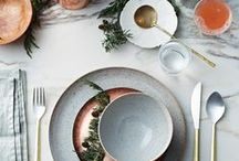 {Weihnachtstisch - christmas table setting}