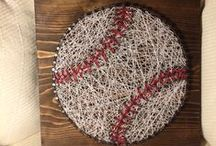 Baseball DIY & Crafts / If you're crafty and love baseball, this is the board for you!