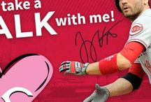 Reds Valentines / Valentine's Day cards from your Cincinnati Reds