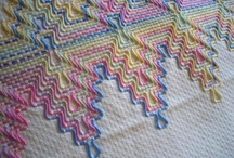 Huck Embroidery, Swedish Weaving, Huckaback Darning, Punto Filza, Vagonite / by Alison Fuchs