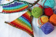 Lesson Ideas - Wonderful Weaving & sewing projects