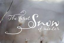 Winter / by Heureux Pour Tourjours