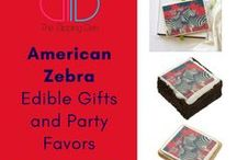 American Zebra / American Zebra by The Dipping Den. Brownies, cookies, cake pops, chocolate, gum, and more! #thedippingden #anyeventeveryoccasion #zazzle  THEDIPPINGDEN.COM  ZAZZLE.THEDIPPINGDEN.COM