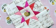 Fussy cuts / Ideas and inspiration for fussy cutting projects.