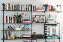 Bookshelf Styling  / by gold & gray jewelry