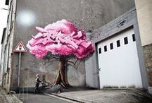 Street art / Cool street art that reflects the citizens mind - so wonderful!