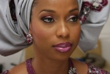 Queen Wraps / Gelle wraps, beautiful women, head covering, queens / by Teri Thomas