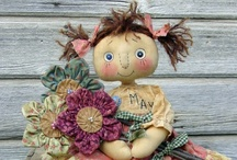 CLOTH DOLLS / by Tracey Eggers