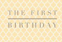 First Birthdays