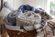 BLANKETS / Nothing beats curling up under a  cozy blanket. / by Tracey Eggers