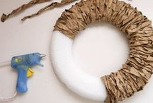 DIY wreaths / by Katie Richardson Laseter