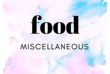 food    miscellaneous