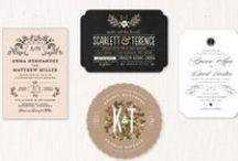 ♥︎wedding stationery♥︎ / wedding stationery - papeterie de mariage