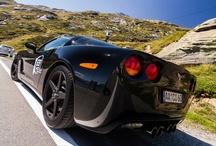 Corvette C6 / That´s my black baby. A 2005 Corvette C6 :)