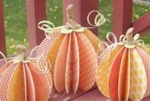 "Fall & Halloween Ideas / Find spooky projects for Halloween and great autumn ideas you'll ""fall"" for, too!  / by Archiver's"