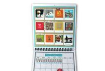 Handmade Calendar Ideas / Calendar pages are a great way to display an entire year of memories! / by Archiver's