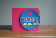 Thank You Card Ideas / There are hundreds of ways to say thank you! A handmade card can mean so much and show your appreciation in style. / by Archiver's