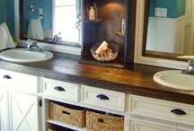 Bathroom ideas / by S Gonzalez