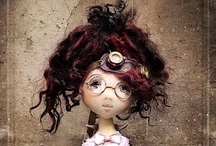 Amazing Handcrafted Dolls / by Penny Wofford Lambert (Miss Penny Whistle Creations)