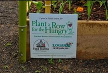 Plant a Row for the Hungry / Plant a Row for the Hungry (PAR) is a national program created by The Garden Writers Association that encourages garden communities and individuals to donate fresh vegetables, fruit, and herbs to people in need. Inter-Faith Food Shuttle is the PAR partner in the Triangle, distributing your produce to local food pantries, shelters, and other hunger-relief organizations.