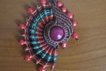 beads :: macramé/memory wire / jewelry made using macrame & memory wire / by Peggy