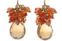 beads :: earrings / beaded earrings / by Peggy