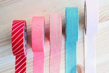 Washi Tape Ideas / Who doesn't love bright, colorful washi tape? You can do so many things with it! Here are some ideas we've created, and other fun ideas we've found on Pinterest. / by Archiver's