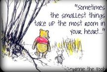 all things Pooh :: wisdom / by Peggy