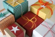 Great Gift Wrapping Ideas / Make your gift look as cool on the outside as it is on the inside! We have lots of gift wrapping ideas for any season or occasion that will make your gift look like a million bucks. / by Archiver's