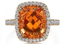 Creativity / Enter into the world of #gemstones #orange #diamond