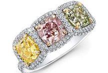 Colorful / Enter into the world of #precious #stones #diamond #ruby #sapphire #emerald