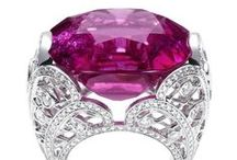 Happiness / Enter into the world of #precious #stones #fuchsia #diamonds #ruby #sapphires