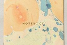 notebooks and journaling.