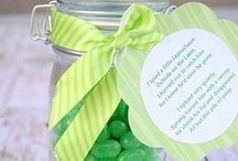 Celebrate: St. Patrick's Day / A few fun ideas for St. Patrick's day including wreaths, ideas for kids, decor and treats.  / by Amber Price: Crazy Little Projects
