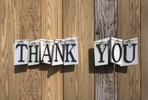 Giving Thanks / Despite the age of digital communication, showing your thanks is still highly important. Receiving a hand written thank you card in the mail is more meaningful than ever before. Show someone your appreciation by hand writing a few words of gratitude for their thoughtfulness.