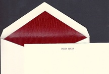 Stationery. Stolen or otherwise. / by India Hicks