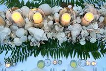 That's Entertainment / You don't necessarily need a Bahamian night sky or a garden of palm trees to make a meal feel memorable. Interesting company, simple cooking, pretty linen and a little table decoration take you a long way. / by India Hicks