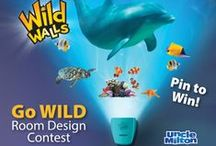 Go WILD Room Design Contest! / Activate your wild imagination by creating a Pinterest Pin Board for your child's ultimate themed bedroom inspired by Uncle Milton Wild Walls.