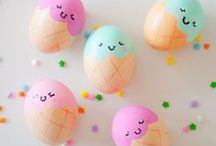 Easter / Easter is a time for celebration and fun DIY s with the family. So many fun and colourful ways to decorate eggs and cakes.