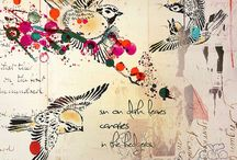 Art Journal & MixEd MeDiA / by Andrea McGough