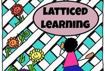 Latticed Learning: Food Theme