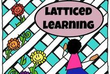 Latticed Learning: General Resources / Looking for more activities to match a particular letter, number, or topic during your Latticed Learning time?  Check out these great resources!