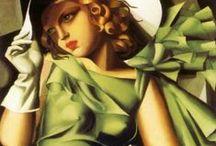 De Lempicka, Tamara (1898-1980, Polish art-deco painter)