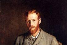 Hacker, Arthur (1858-1919, English pre-Raphaelite painter)