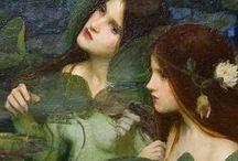 Waterhouse, John William (1840-1917, British pre-Raphaelist painter)