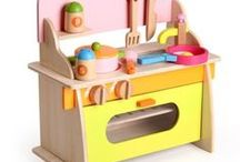 Wooden Toys / Going back to basics with some time tested wooden toys.