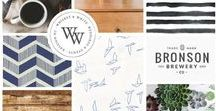 Branding by Kaylynne Johnson - web & design / Voici quelques-un des projets de branding que j'ai eu le plaisir de réaliser. | Here are some of the branding projects I have been working on.