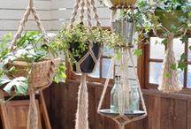 Plant Hanger(プラントハンガー) / マクラメ編みのプラントハンガーいろいろ