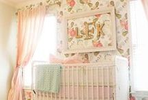 For the Girls / baby girl / girl / pink / its a girl / kids room / girl nursery / home decor / interiors / baby products
