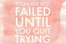 Inspirational Quotes / inspirational quotes / quotes / words / inspiration / words speak volumes